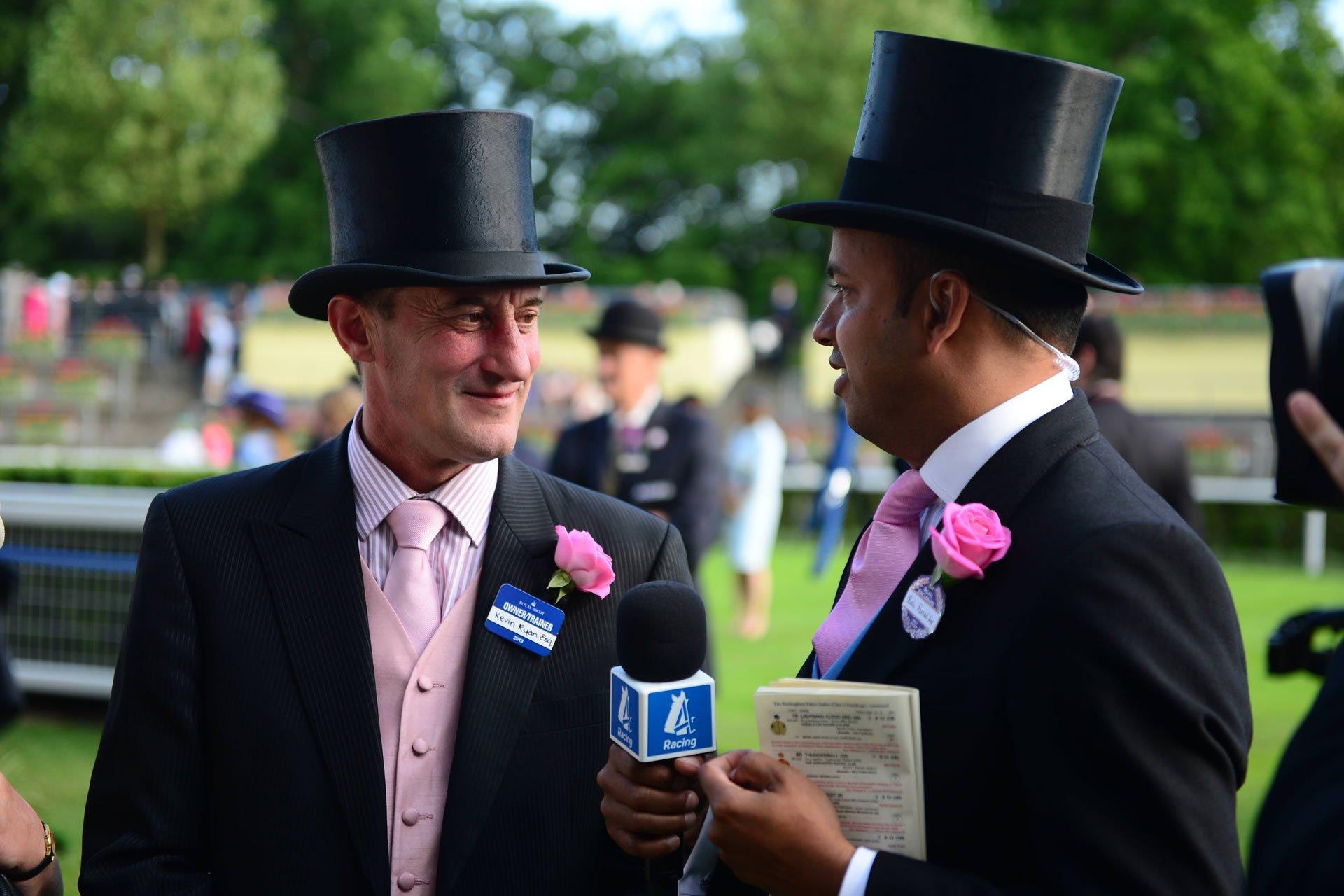 Kevin Ryan Royal Ascot win Hambleton's horse racing syndicate