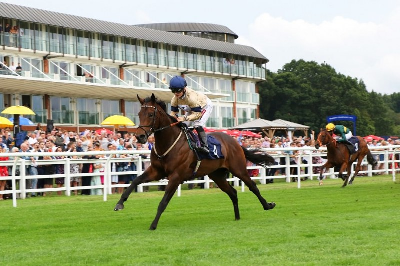 MAYSTAR ridden by Hollie Doyle 1st in The Independent Catering Novice Stakes at Lingfield 27/7/19 Copyright: Ian Headington/racingfotos.com