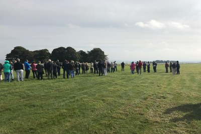 Owners Watching Gallops