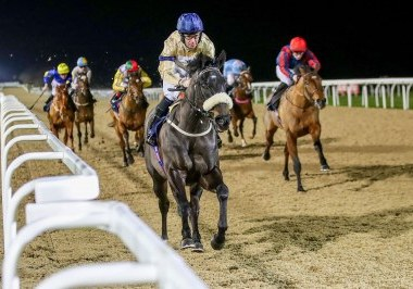 COAST OFALFUJAIRAH (Tom Eaves) wins at NEWCASTLE 17/1/20 Photograph by Grossick Racing Photography 0771 046 1723